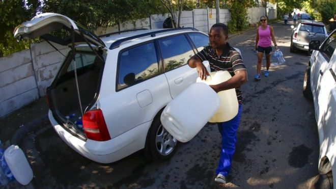 Cape Town at Risk of Running out of Water
