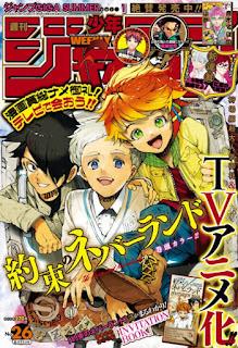 "Manga: Anunciada adaptación anime para el manga ""The Promised Neverland (Yakusoku Neverland)"" de Kaiu Shirai y Posuka Demizu"
