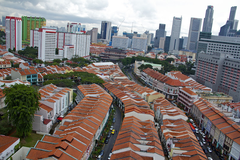 Tanjong Pagar, straddling the Central Business District
