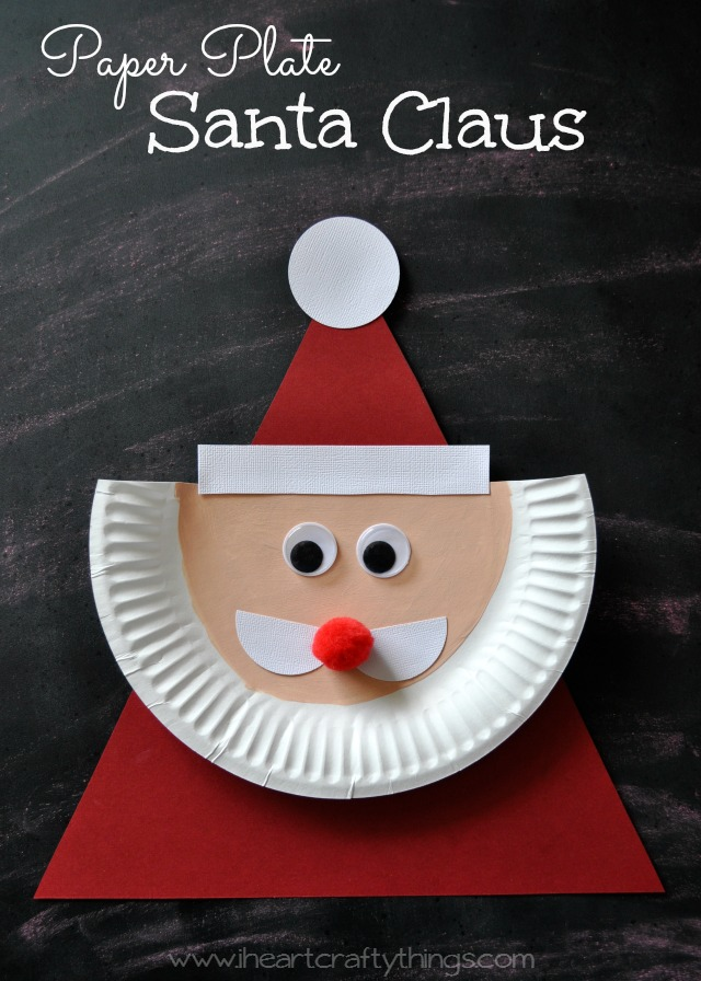 Santa crafts kids can make 15 fun ideas letters from for Fun christmas crafts to do at home