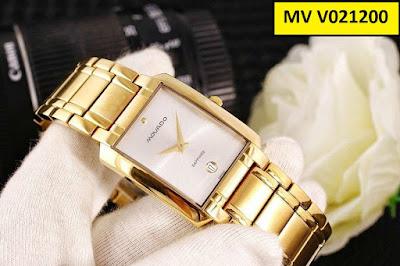 Đồng hồ nam mặt vuông Movado V021200