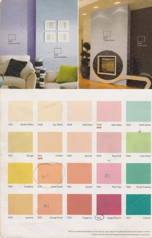 Gaya Terbaru 28 Katalog Warna Cat Q Lux