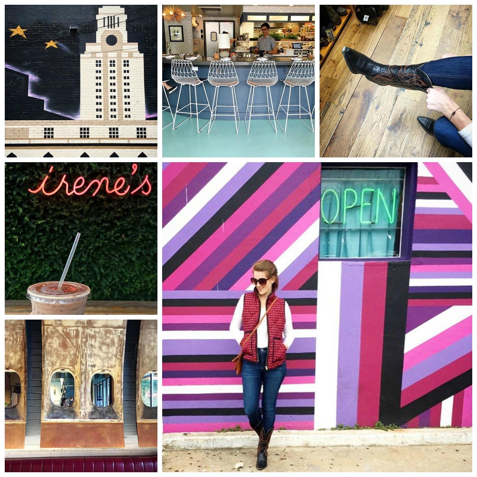 Snapshots from Austin