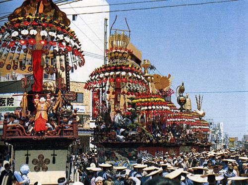 Mikurumayama Festival Takaoka.