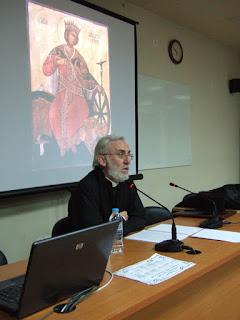 Ομιλία για την Αγία Αικατερίνη στο ΣΔΕ Κατερίνης
