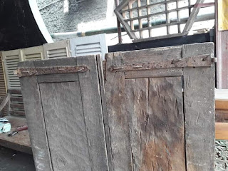 Dijual Pintu Kayu Jati Lawas Jaman Londo