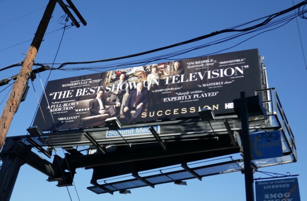 Succession season 1 consideration billboard