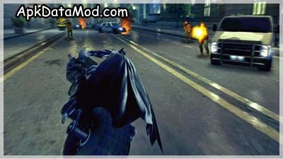 The Dark Knight Rises Bat Bike Apk