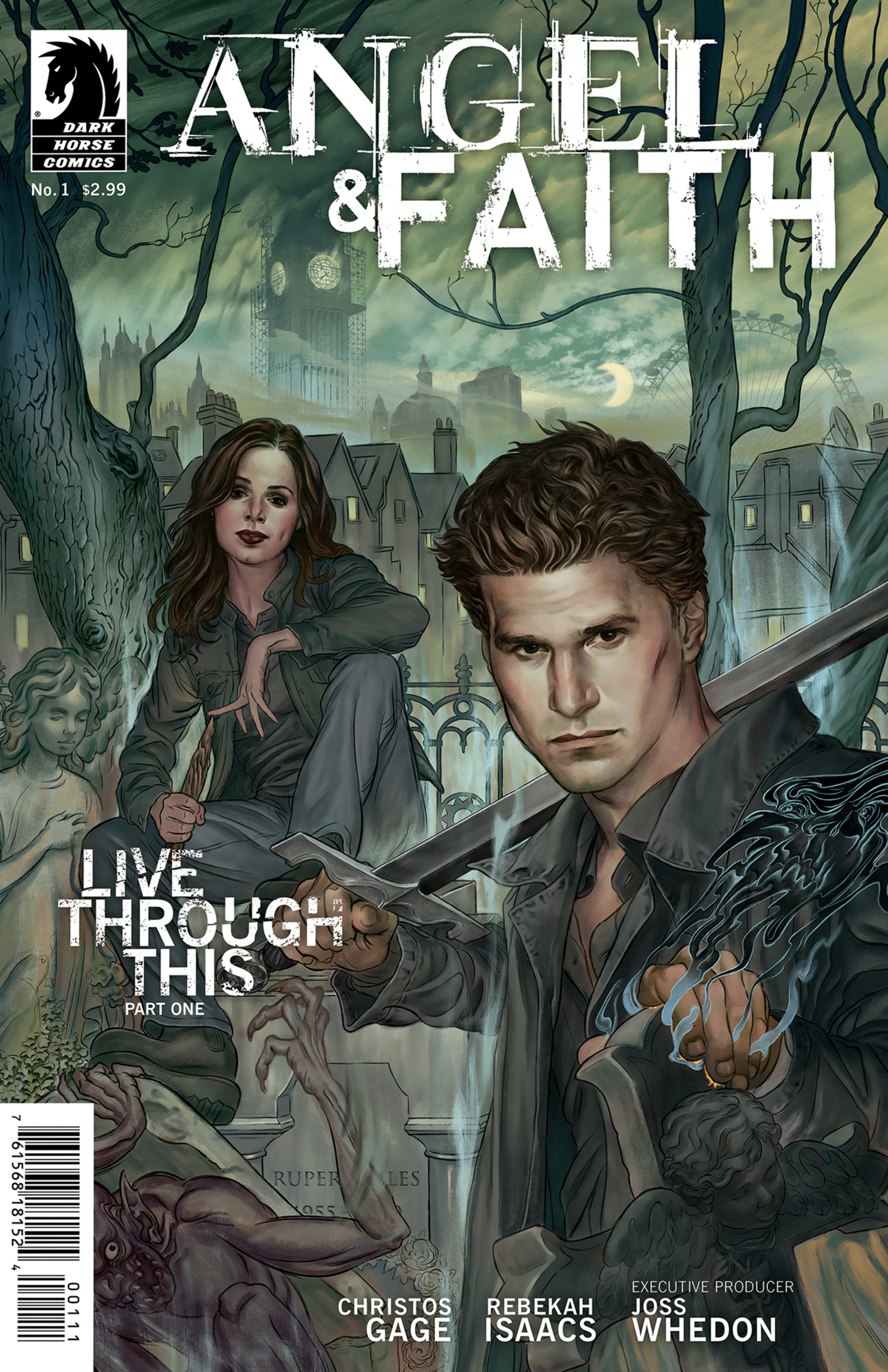 Read online Angel and Faith comic -  Issue #1 - 2