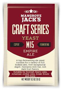 Mangrove Jacks Empire Ale Yeast
