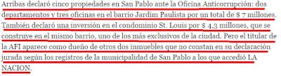 CASABLANCA, DECLARACIONES JURADAS