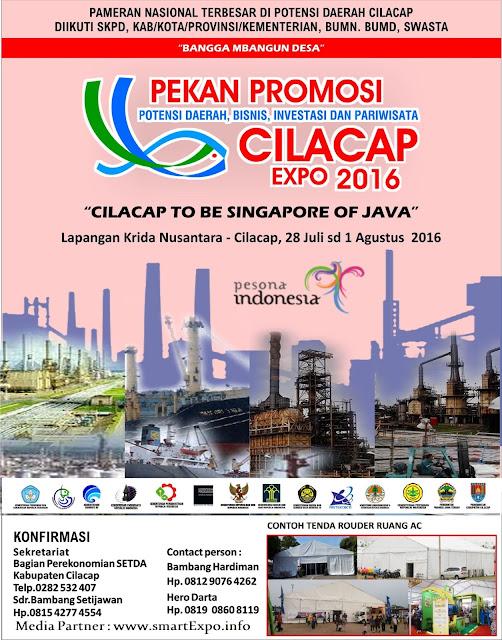 Cilacap Expo 2016 - Lapangan Krida Nusantara juli agustus