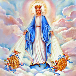 Queens of heaven is mary