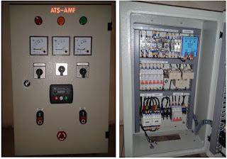 Melayani pembuatan dan service panel otomatisgenset