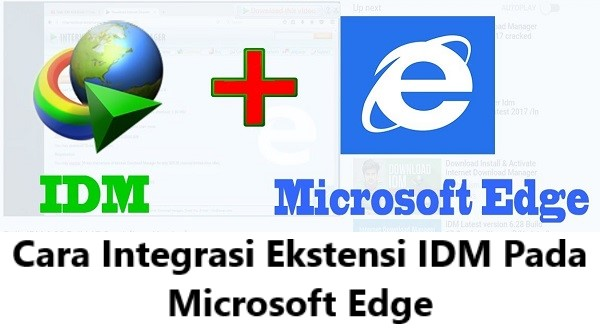 cara memasang dan mengaktifkan extension (Add On) IDM di Microsoft Edge Windows 10