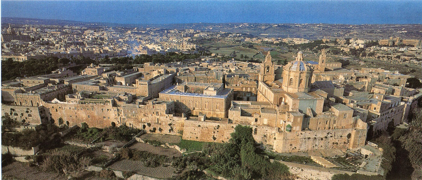 Mdina – fortified city in Malta.