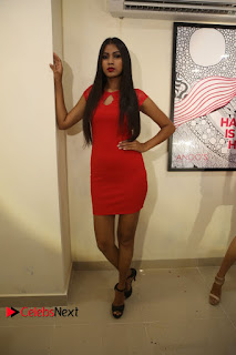 Actress Model Honey Pictures at Anoos Franchise Salon and Clinic Launch  0079.JPG