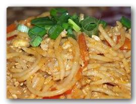 Resep pasta oriental
