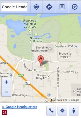 New Google Maps in Your Mobile Browser on nintendo headquarters map, microsoft corporate headquarters map, facebook headquarters map, apple headquarters map, cia headquarters map, oracle headquarters map, allstate headquarters map, symantec headquarters map, qualcomm headquarters map, groupon headquarters map, nasa headquarters map, sony headquarters map, walmart headquarters map, google earth florida usa, nike headquarters map, google corporate office, 3m headquarters map, dell headquarters map, epic headquarters map,