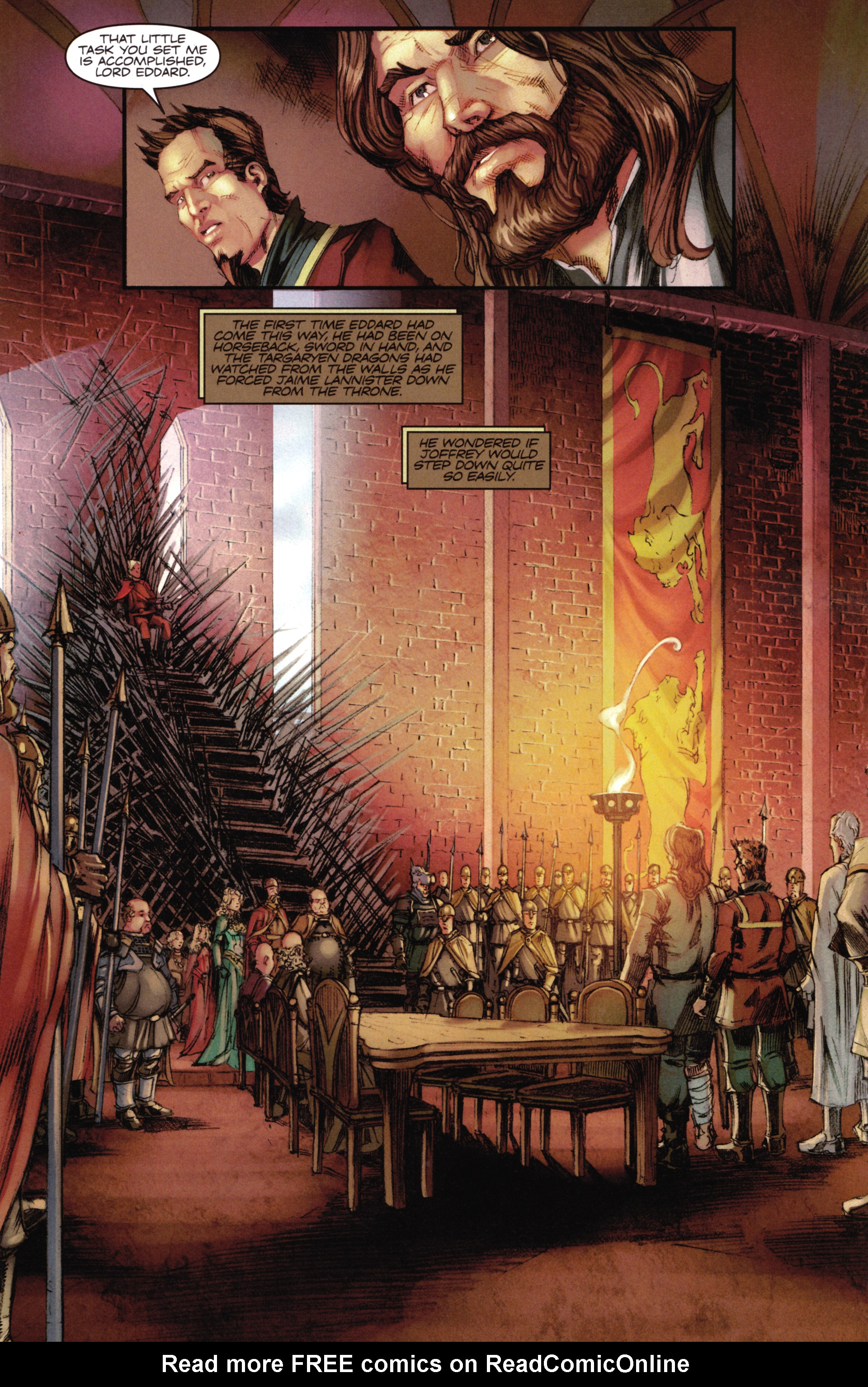 Read online A Game Of Thrones comic -  Issue #16 - 9