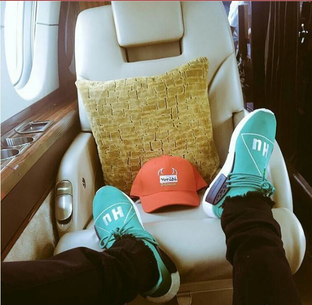 Wizkid rents private jet, shuttles to Abuja and back to Lagos same day