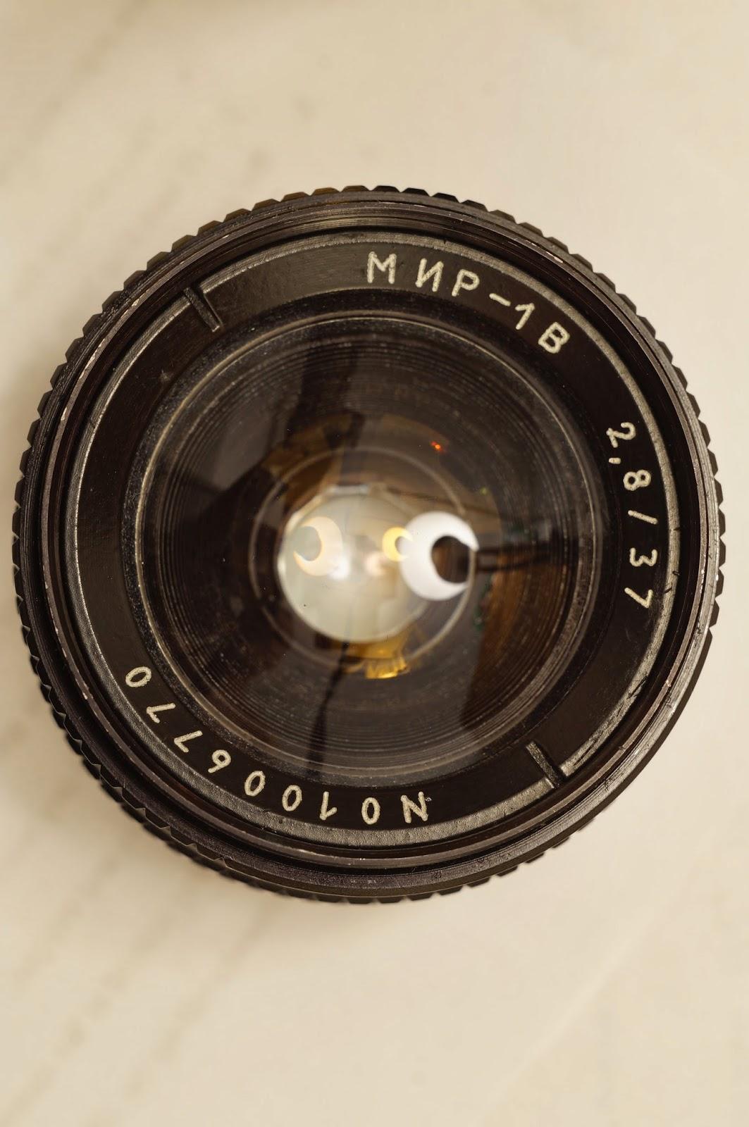 Mir-1B 37mm F2.8 M42