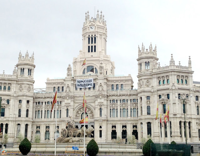 plaza de cibeles, Madrid, cosa vedere a madrid, itinerario a madrid, due giorni a Madrid, blogger madrid
