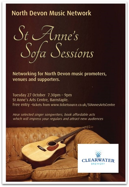 Get tickets forNorth Devon Music Network Sofa Sessions