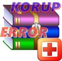 Cara Mengatasi File RAR Error Atau Korup