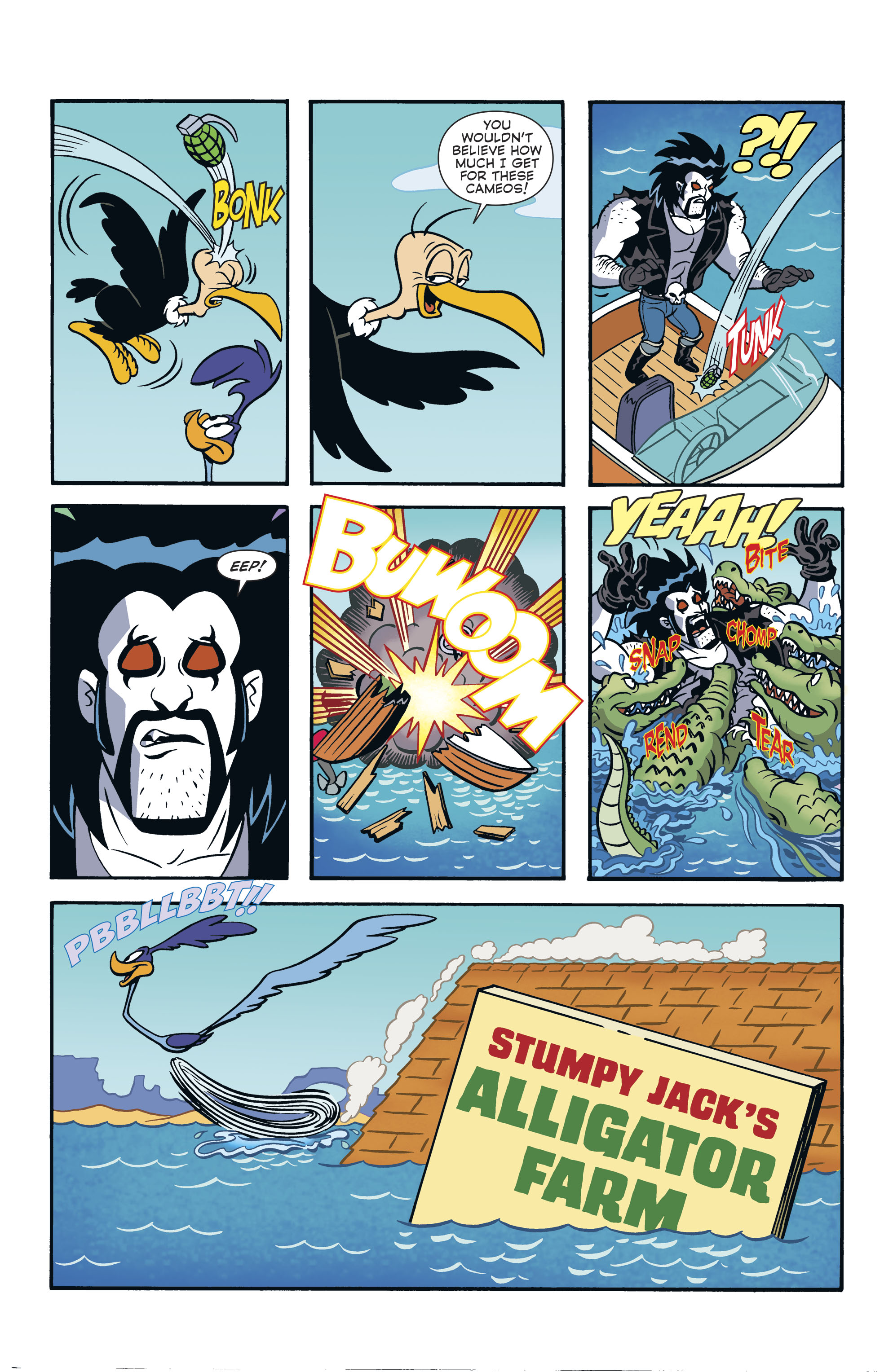 Read online Lobo/Road Runner Special comic -  Issue # Full - 39