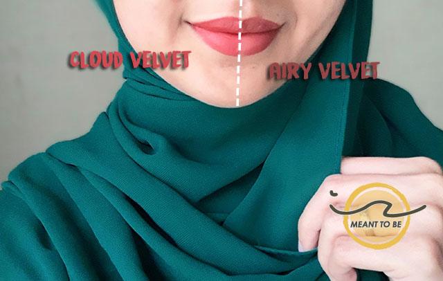 Peripera Ink Lip Tint Review - Airy Velvet vs Cloud Velvet