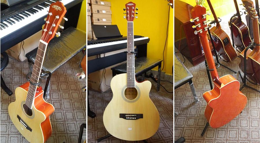 Caravan hs4010 Top 5 cây đàn Guitar Acoustic giá dưới 1 triệu đáng mua nhất dành cho người mới