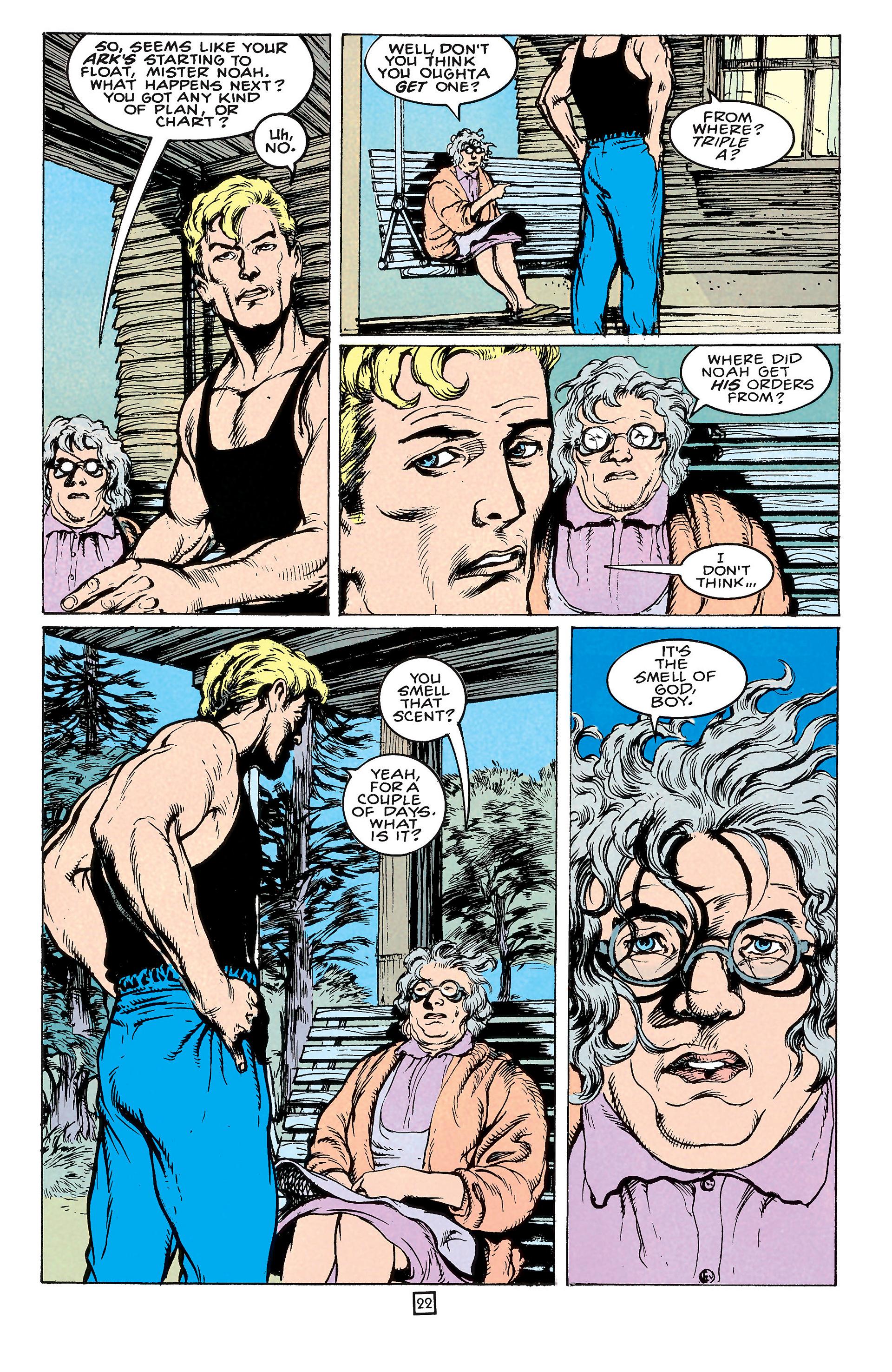 Read online Animal Man (1988) comic -  Issue #65 - 22