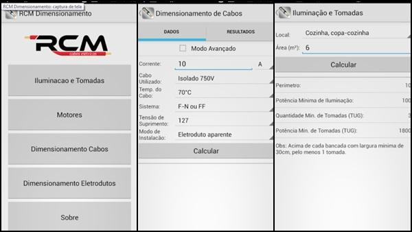 RCM Dimensionamento