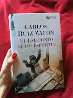 """""""El laberinto de los espíritus"""" Carlos Ruiz Zafón, fot. paratexterka ©"""