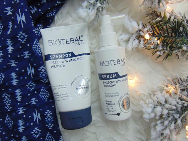 Biotebal MEN - Szampon i serum przeciw wypadaniu włosów dla mężczyzn