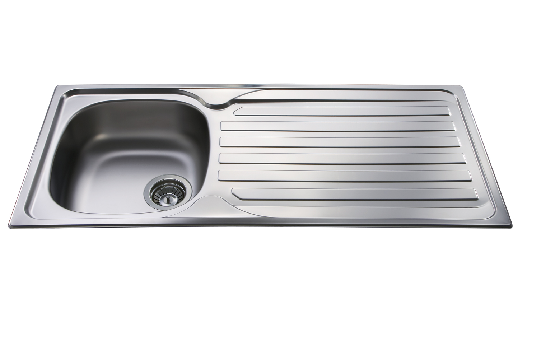 Stainless Steel Single Bowl Kitchen Sink Home Depot Island Lighting
