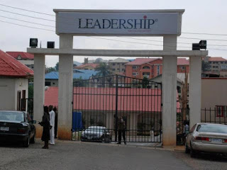 News: Real reason police shut down Leadership Newspapers
