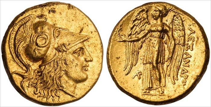 История денег и валюта Македонского