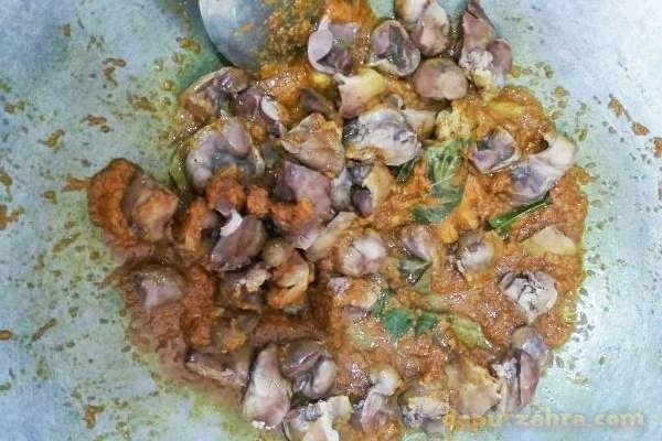 ayam sambal petai