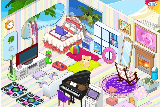 decorating games my new room 2