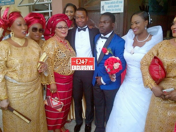 sola sobowale son wedding pictures