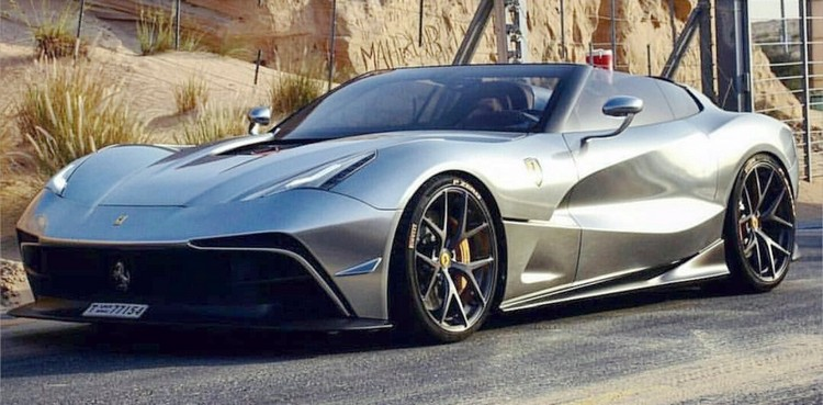 Ferrari F12 TRS costing $4.2 million in a world of only two