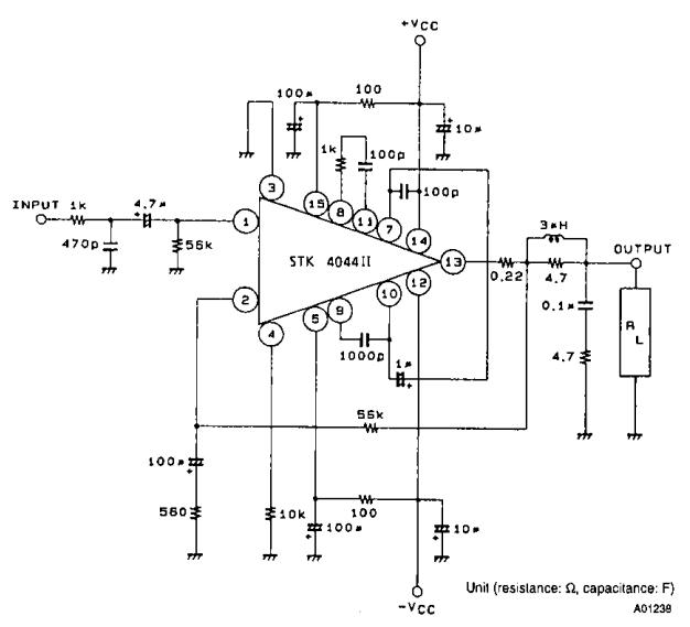 100W AF Power Amplifier ~ AmplifierCircuits.com