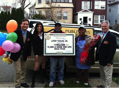 Leroy Founts Publishers Clearing House Winner