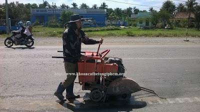Khoan cắt bê tông tại Vĩnh Long 1