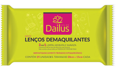 Lenços Demaquilantes Dailus Color
