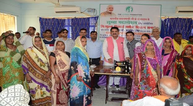 LOOMBA FOUNDATION DISTRIBUTES 400 SEWING MACHINES AS PART OF EMPOWERING 5000 IMPOVERISHED WIDOWS IN VARANASI – PROJECT LAUNCHED BY HON'BLE PRIME MINISTER OF INDIA