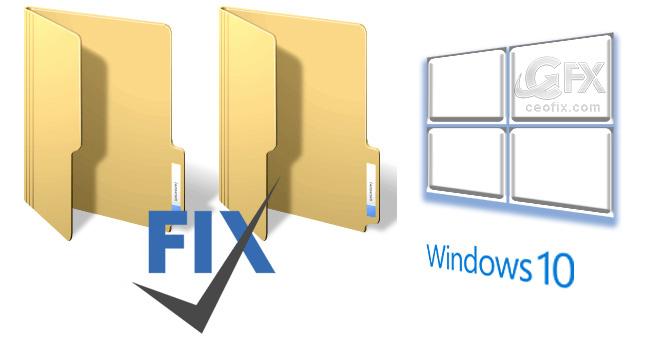 Windows 10 Klasörler Yavaş Açılıyor Sorununu Fixleyin