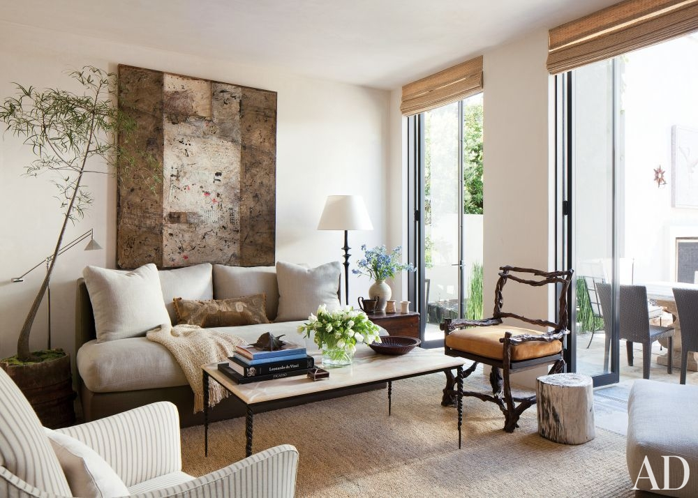 An Architectural Brooklyn Living Room With A Modern: LUSTER INTERIORS: Too Long
